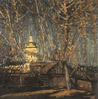soir d'automne by pavel zelenesky