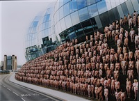 newcastlegateshead 5 (baltic centre for contemporary art) by spencer tunick