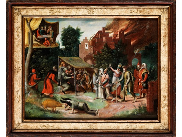 versuchung des heiligen antonius by hieronymus bosch
