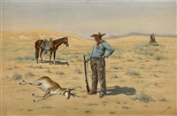 untitled (killed antelope) by e. krueger