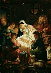 the adoration of the shepherds by josephine beck
