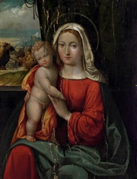 the madonna and child by benvenuto tisi da garofalo