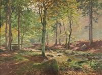waldbach by heinrich böhmer