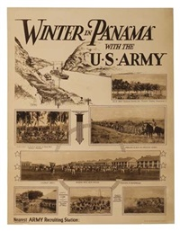 winter in panama with the u.s. army (by e.h. sleeper) by posters: world war i & ii