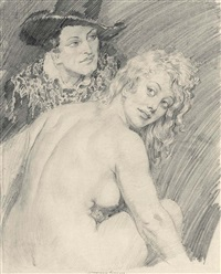 study for marriage by norman alfred williams lindsay