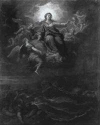 la vierge protegeant les marins by jean-baptiste corneille
