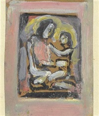 maternité by georges rouault