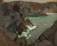 rocky cove by paul dougherty