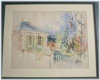 la maison de gustave flaubert by jean dufy