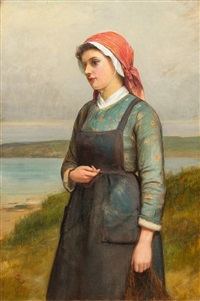 peasant woman by charles sillem lidderdale