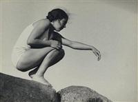 etude de mouvement, roscoff by andré steiner