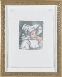 l'enfant au biscuit (jean renoir) by pierre-auguste renoir