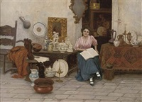 the antiques seller by cesare vianello