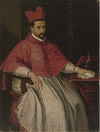 portrait of a cardinal by scipione pulzone