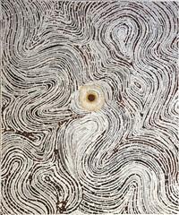 bushfire series 4 - kulyayi waterhole by lloyd kwilla