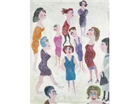 group of women by fred yates