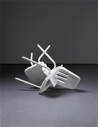 not yet titled (two chairs) by banks violette
