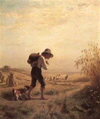 the young water carrier by friedrich wilhelm pfeiffer