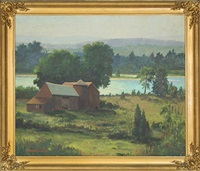 connecticut landscape by neil maceachern