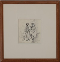 couple seated no. 2 by isabel bishop