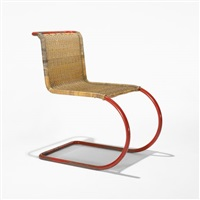 mr 10 chair by lilly reich and ludwig van der rohe