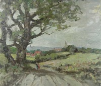 a country lane by robert kennedy