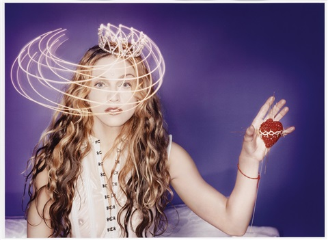 madonna with sacred heart new york by david lachapelle