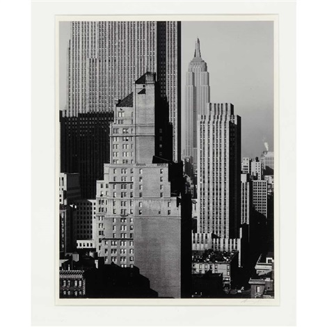 new york by ansel adams