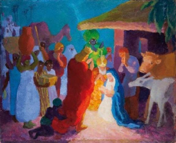 la naissance du christ by edmond sigrist