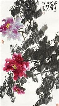 花卉 by liu jihong