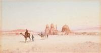 les tombeaux des califes, le caire by spyridon scarvelli