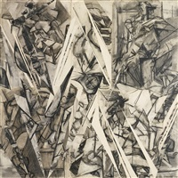 future indicative by lee krasner