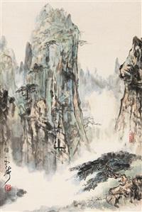 山水 by liu zhiyong