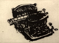 typewriter v by william kentridge