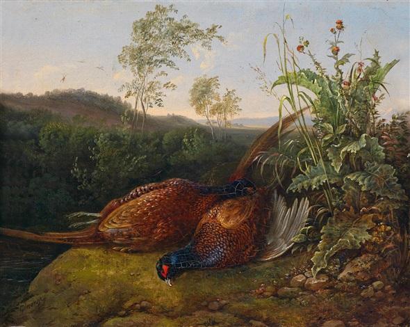 jagdstillleben by josef ginovsky