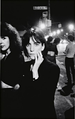 patti smith bowery by godlis