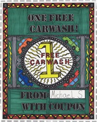 one free car wash by michael scoggins