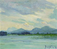 chiemsee by julius exter
