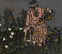 flowers for the pulpit by robert gwathmey