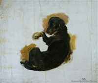 study of a dog by briton riviere