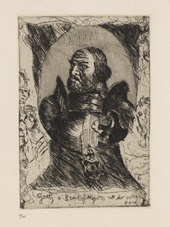 götz von berlichingen (8 works) by lovis corinth