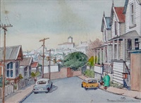 old houses, freemans bay by peggy spicer
