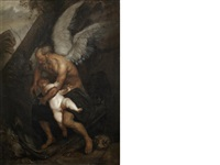 time clipping cupid's wings by sir anthony van dyck