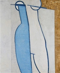 blue nude by thomas nathaniel davies