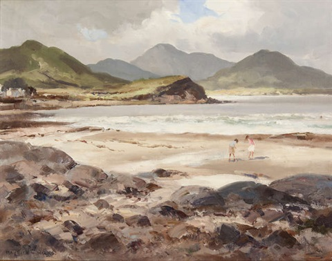 Ballinskelligs Bay, Co. Kerry by Maurice Canning Wilks on artnet