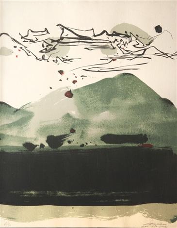 001ba142f3f Lithographie by Chu Teh-Chun on artnet