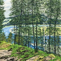 synthetic blue - st. john by neil welliver