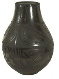 san ildefonso storage jar by carmelita dunlap
