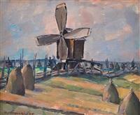 windmill by vaino kamppuri