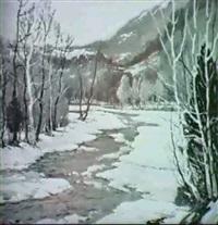 sycamore creek,morgan country,indiana by edward r. sitzman